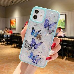 iPhone Case Glitter Butterflies